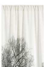 Photo-print curtain length - White/Landscape  - Home All | H&M CN 2