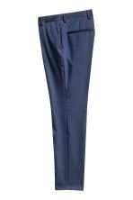 Pantaloni da completo Slim fit - Navy - UOMO | H&M IT 2
