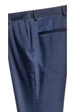 Pantaloni da completo Slim fit - Navy - UOMO | H&M IT 3