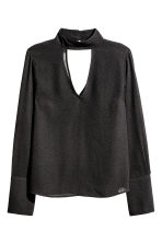 Crêpe blouse - Black - Ladies | H&M GB 2