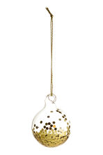 2-pack Christmas decorations - Gold - Home All | H&M 2
