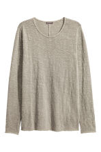 Fine-knit cotton jumper - Grey - Men | H&M CN 2