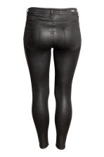 H&M+ Shaping Skinny Jeans - Black/Coated - Ladies | H&M CN 3