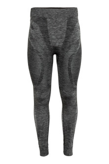 Seamless base layer trousers