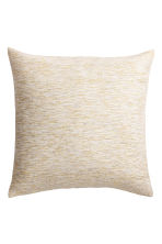 Glittery cotton cushion cover - White/Gold - Home All | H&M CN 1