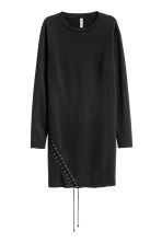 Sweatshirt dress - Black -  | H&M GB 2