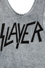 Sleeveless body - Grey/Slayer - Ladies | H&M CN 4