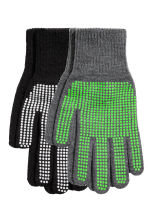 2-pack gloves - Black - Kids | H&M CN 1