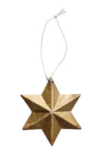 2-pack Christmas decorations - Gold - Home All | H&M CN 2