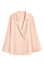 Crêpe blouse - Powder - Ladies | H&M CN 2