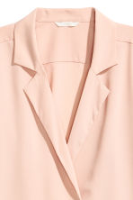 Crêpe blouse - Powder - Ladies | H&M CN 4