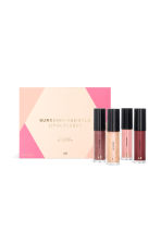 Lip gloss set - Burgundy And Gold - Ladies | H&M IE 1