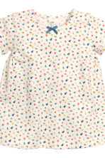 Dress and leggings - Natural white/Floral - Kids | H&M CN 3