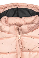 Padded jacket with a hood - Powder pink - Kids | H&M CN 2