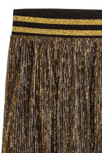 Pleated skirt - Gold - Ladies | H&M CN 3