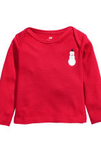 5-piece jersey set - Red/Snowman - Kids | H&M CN 4