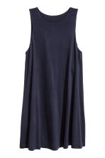 Jersey dress - Dark blue - Ladies | H&M CN 1