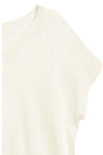 Fine-knit top - Natural white - Ladies | H&M CN 3