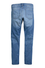 Slim Regular Trashed Jeans  - Denim blue - Men | H&M CN 3