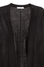 Fine-knit cardigan - Black - Ladies | H&M CN 3