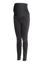 MAMA Skinny Jeans Trashed - Negro - MUJER | H&M ES 2