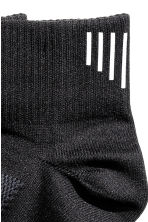 2-pack running socks - Black - Men | H&M CN 2