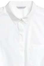 H&M+ Fitted shirt - White - Ladies | H&M CN 3