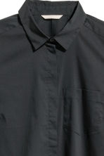 H&M+ Fitted shirt - Black - Ladies | H&M CN 2