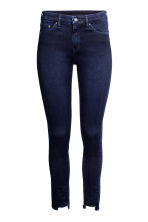 Skinny Regular Twisted Jeans - Blue-black - Ladies | H&M CN 2
