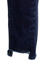 Skinny Regular Twisted Jeans - Blue-black - Ladies | H&M CN 4