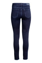 Skinny Regular Twisted Jeans - 蓝黑色 - 女士 | H&M CN 3