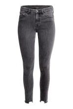Skinny Regular Twisted Jeans - Black washed out - Ladies | H&M CN 2