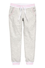 Marled sweatpants - Light grey marl - Kids | H&M CN 2