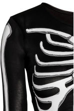 Skeleton costume - Black/Skeleton - Ladies | H&M CN 3