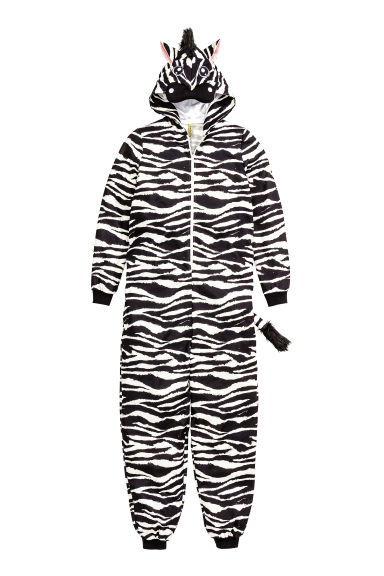 Zebra costume - Black/Zebra - Ladies | H&M CN 1