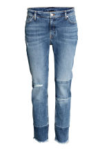 Jeans patchwork - Blu denim - DONNA | H&M IT 2