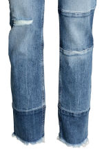 Patchwork Jeans - Denim blue - Ladies | H&M CN 4