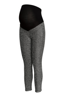 MAMA Leggings glitter