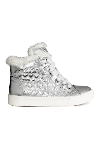 Warm-lined trainers - Silver -  | H&M CN 1