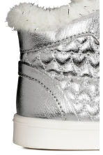 Warm-lined trainers - Silver -  | H&M CN 4