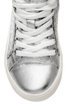 Warm-lined trainers - Silver -  | H&M CN 3