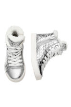 Warm-lined trainers - Silver -  | H&M CN 2