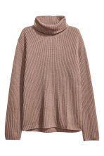 Pullover a coste a collo alto - Talpa - DONNA | H&M IT 2