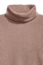 Pullover a coste a collo alto - Talpa - DONNA | H&M IT 3