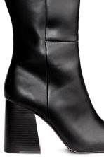 Knee-high boots - Black -  | H&M CN 5