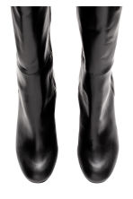 Knee-high boots - Black -  | H&M CN 3
