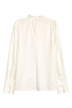 Cotton blouse - null - Ladies | H&M CN 3