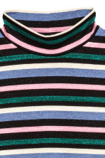 Striped turtleneck top - Multistriped - Ladies | H&M CA 3