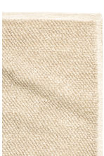 Wool blend rug - Light beige - Home All | H&M CN 2