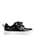 Printed trainers - Black - Kids | H&M CN 2